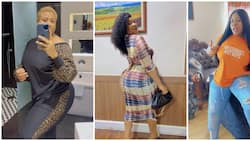 Actress Nkechi Blessing flaunts curves, says she didn't go under the knife