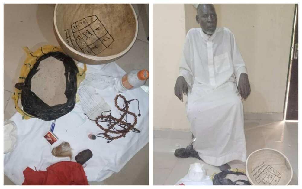 A Kano: An damke wani Malam Boka yana kokarin kwalkwalewa wani jariri ido don asiri