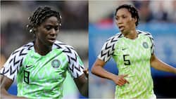 Panic for Portugal as Super Falcons stars Oshoala, Ebi arrive 3 days after Nigeria lost to Jamaica