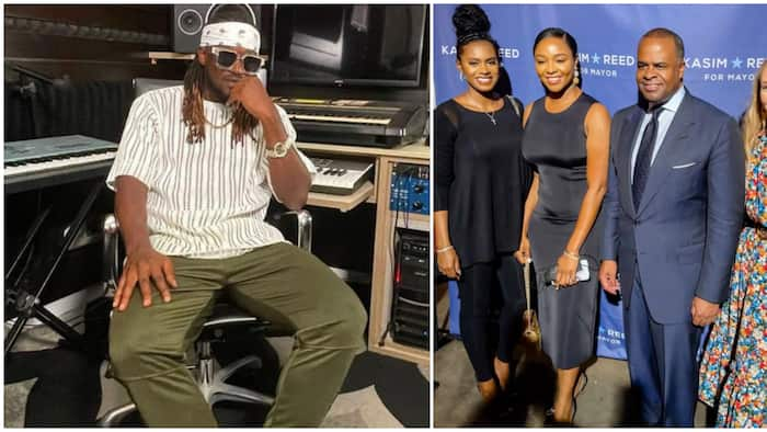 Paul Okoye's wife, Anita, bags new job with US mayoral candidate amid divorce rumours, posts photos