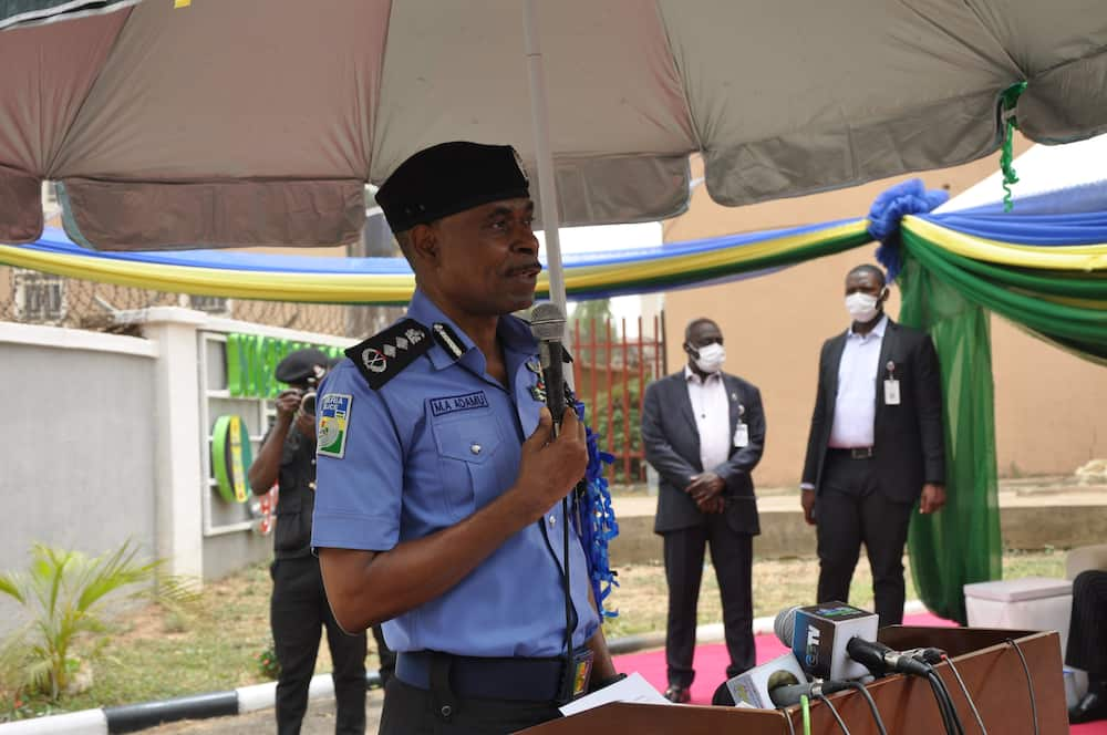 Police and military formations in the northeast have come under attack in recent times. Photo: @PoliceNG