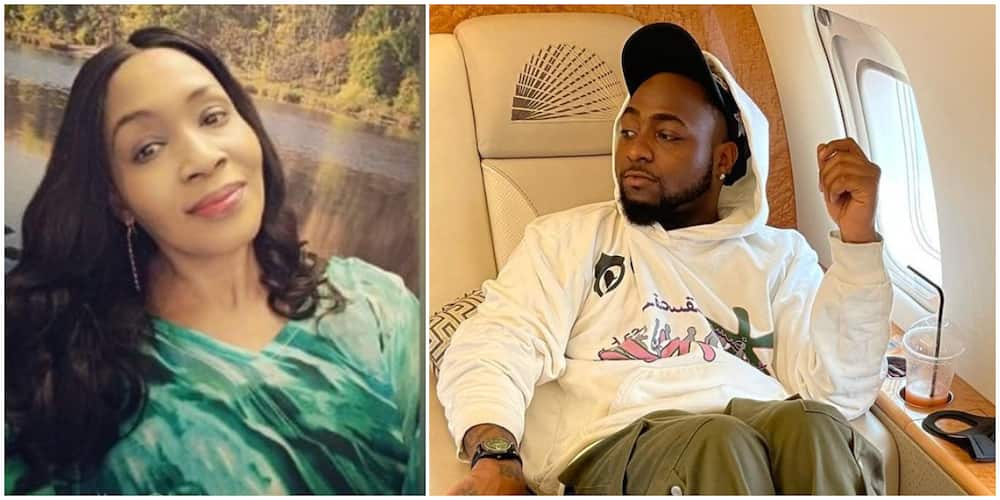 Kemi Olunloyo comes for Davido over 'we rise by lifting others' quote, says he's not the author