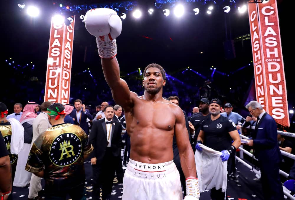Anthony Joshua blasts Wilder with claims the American drags his name to mud