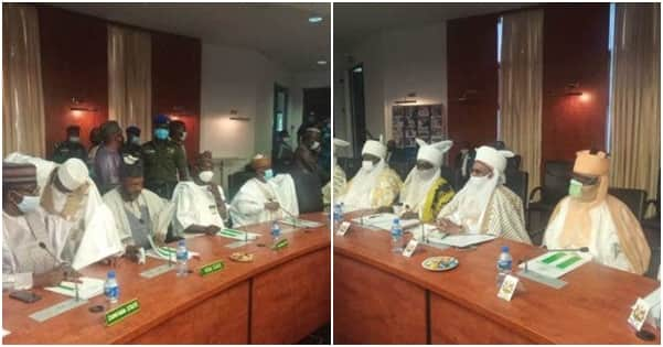 Northern governors, traditional rulers hold security meeting in Kaduna