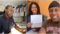 Nigerian dad celebrates daughter who made A in all papers; she's off to 1 of the best varsities in UK