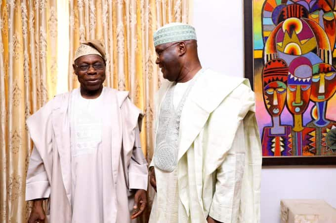 Ina alfahari da ayyukan cigaban da muka yi wa Najeriya tare da Obasanjo - Atiku