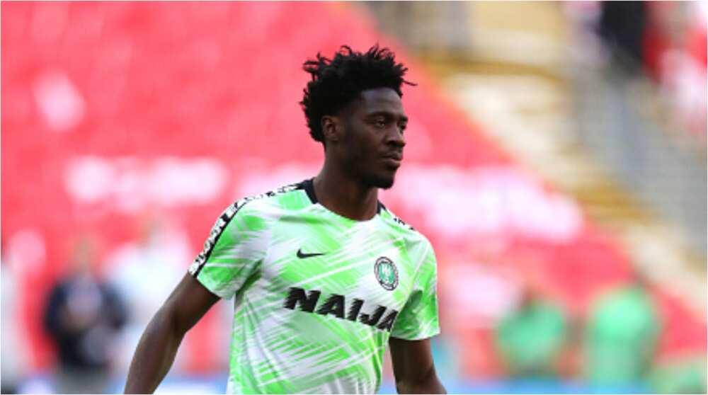 Super Eagles impressive defender expresses delight to have chosen Nigeria over England