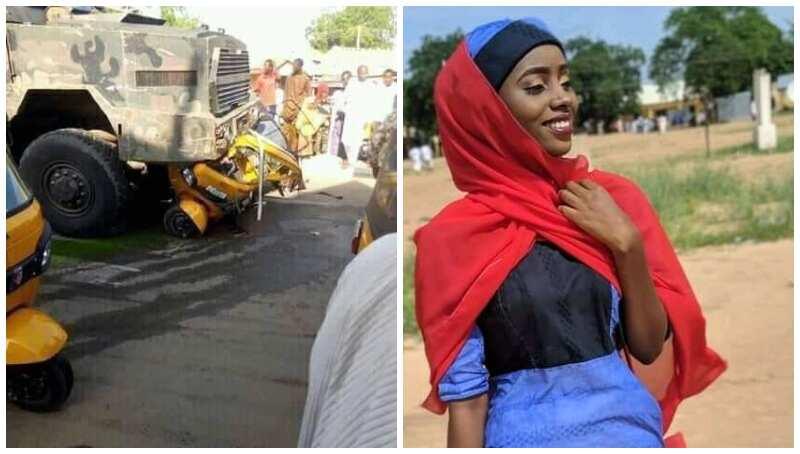 Military gun truck kills 2 civilians in Damaturu road accident - Latest News in Nigeria & Breaking Naija News 24/7   LEGIT.NG