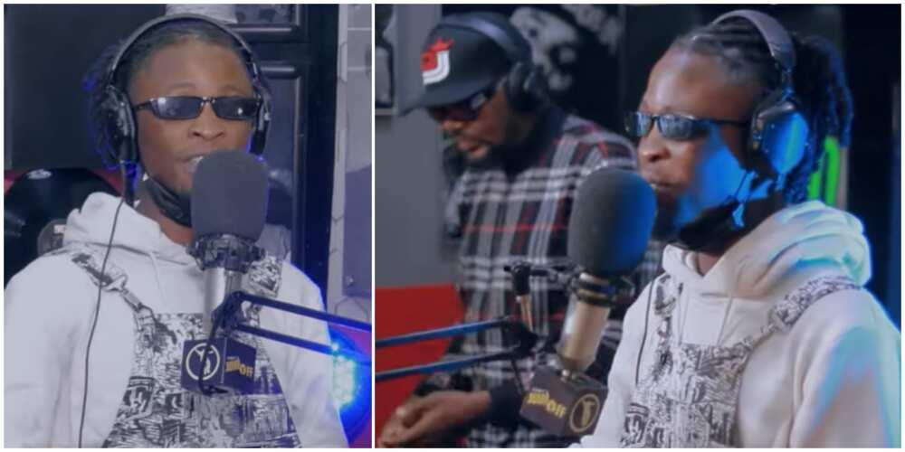 BBNaija's Laycon wows fans with rap performance on DJ Jimmy Jatt's show