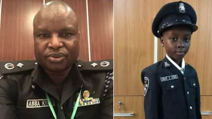 Many are inspired by the son of Abba Kyari who dreams of being a popular police detective like his father (photos)