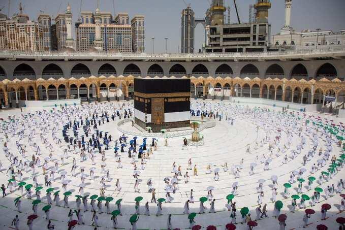 Saudi ta kawo tsauraran dokoki 10, ta kayyade wadanda za a ba damar yin aikin Hajji a 2021