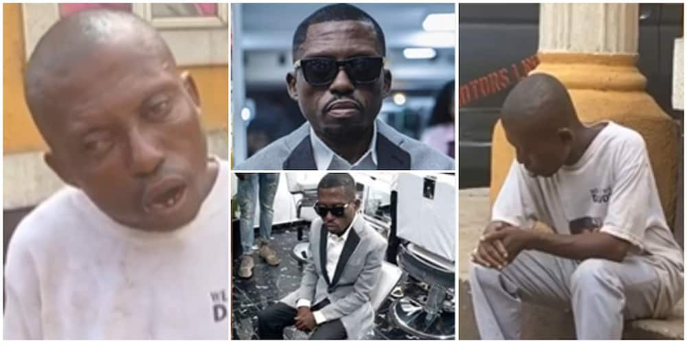 Frypan to Fire: Viral Sensation, Mr Spell Buhari, Back on the Streets Months after Tasting Fame, Begs for Help
