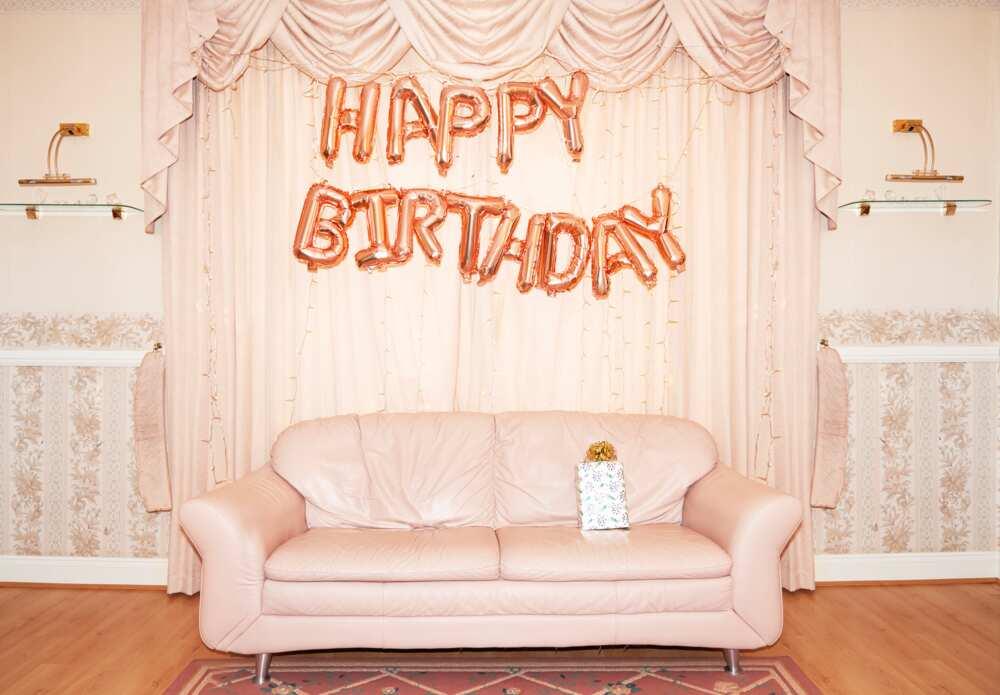 Message d'anniversaire