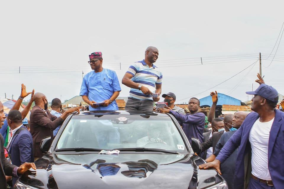 Ondo election: Seyi Makinde joins Eyitayo Jegede to campaign after helping Obaseki win