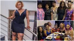 Nollywood stars attend Uche Jombo's lavish 40th birtsday bash (videos, photos)