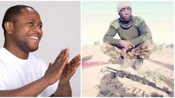 See how a Nigerian soldier professed love for his dearest wife using bullets (photo)
