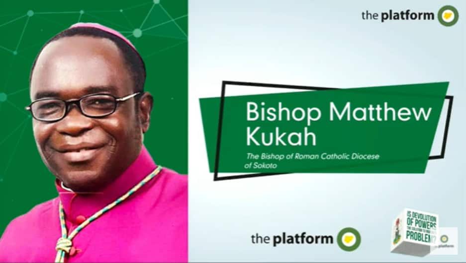 People Are Dying: Bishop Kukah Hits Hard at Buhari's Govt, Speaks on Secession