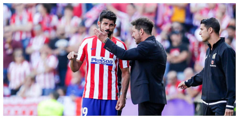 Diego Costa: Atletico boss Simeone pays tribute to Spaniard after premature departure