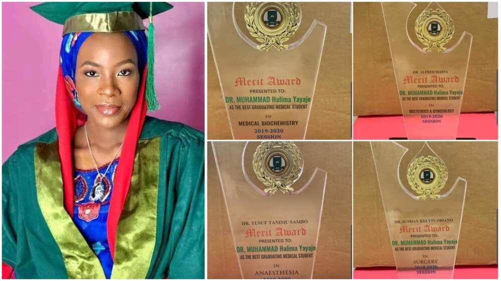 Many people praised Halima Yayajo for the amazing feat.