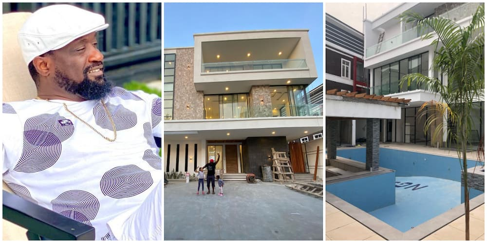 Music executive Jude Okoye shows off his luxury mansion