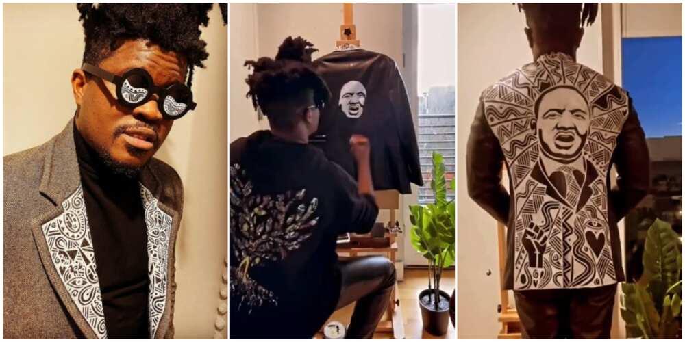 Visual Artist Laolu Makes Impressive Artwork of Martin Luther King Jr