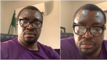 Comedian Ali Baba shakes table, calls out women who bought houses in Banana Island by dating married men