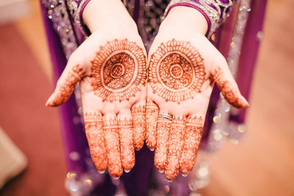 Simple henna designs symmetry