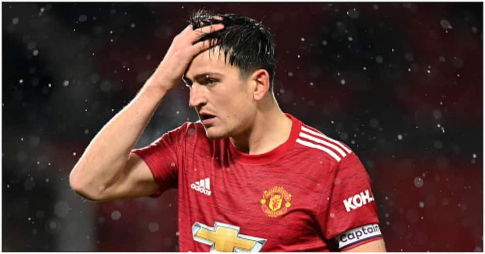 Harry Maguire slammed for clamping down Cesar Azpilicueta during Old Trafford stalemate