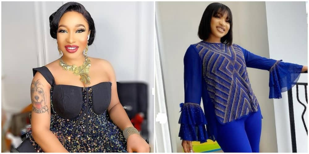 Tonto Dikeh mourns as she loses brother, says 'we never really known when we'll say goodbye'