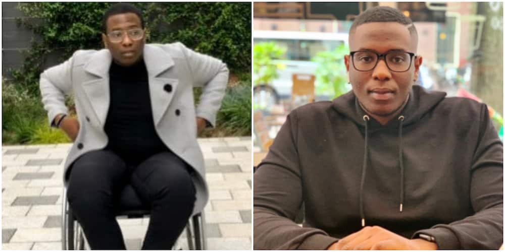Former governor of Ogun state's son, Debola Daniel, shares his frustration about living in Nigeria with disability