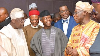 Just in: Obasanjo fighting against himself and his past deeds - Tinubu formally respond to ex-president's attack on Buhari, APC (full letter)