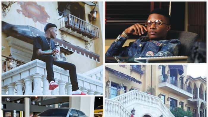 Wizkid's latest house and cars