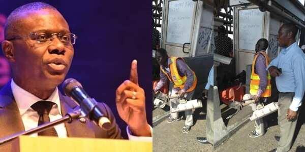 Lekki shooting: Sanwo-olu speaks on removal of CCTV cameras from toll gate.