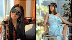 Toke Makinwa describes the kind of guys that complain about women who love money