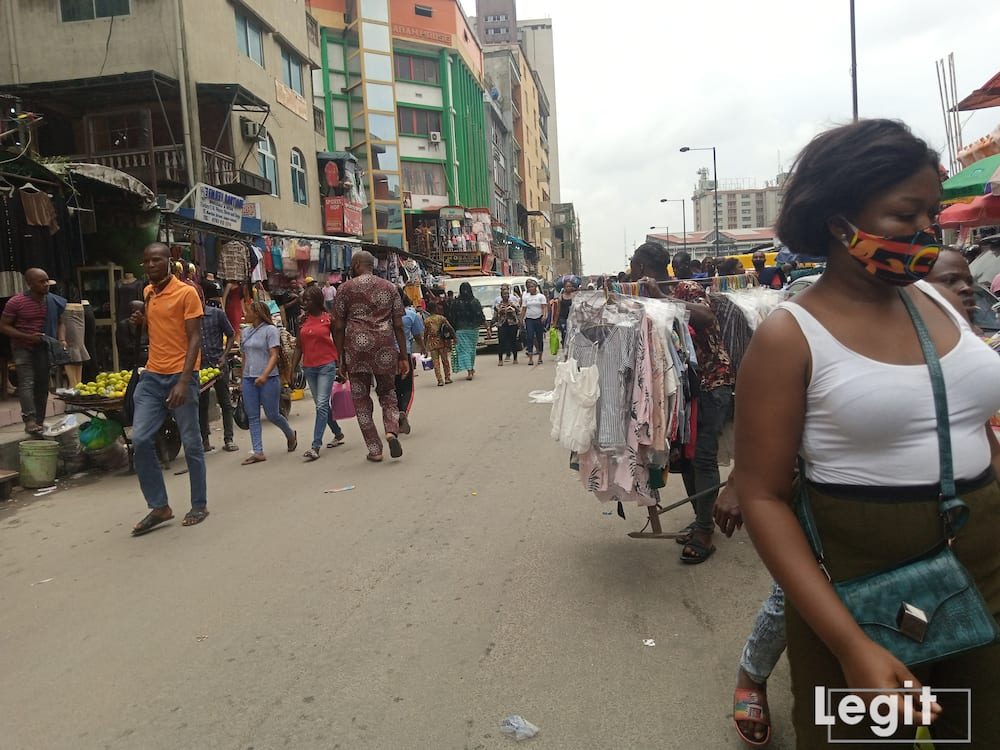 Interestingly, the markets in Lagos are very unique as they are the heart of Lagos state. Photo credit: Esther Odili