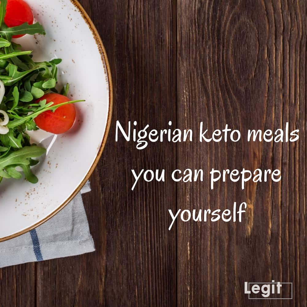 Nigerian keto meals