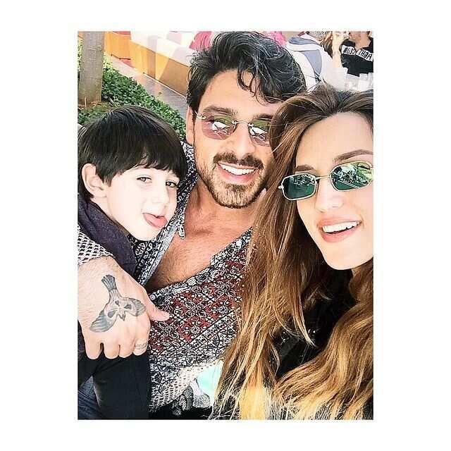 Rouba Saadeh and Michele Morrone
