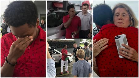 Kind boss gives worker car after he heard man started trekking at midnight to get to work early