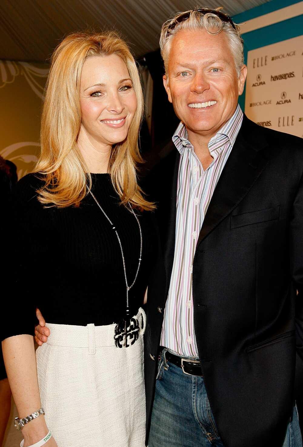 Lisa Kudrow and husband