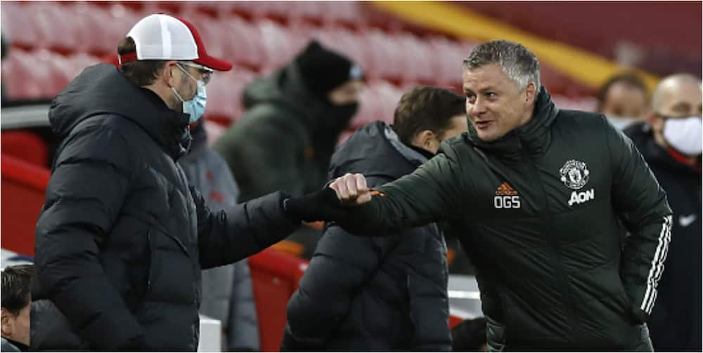 This is what Klopp told Solskjaer after Man United, Liverpool share spoils at Anfield