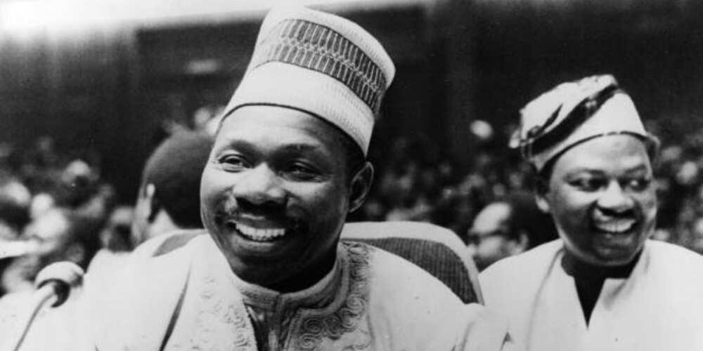 Olusegun Obasanjo in Gabon