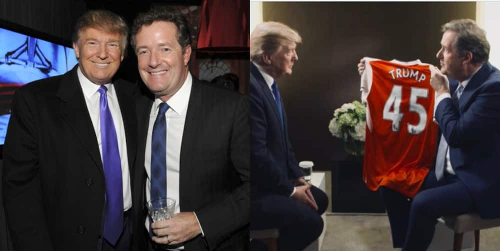 Donald Trump: Piers Morgan once offered president to replace Wenger at Arsenal