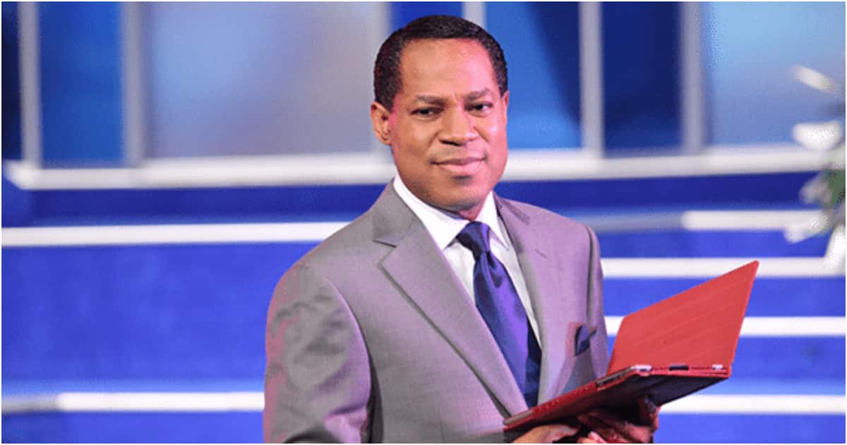God made women because of men - Pastor Chris Oyakhilome says, lady blasts him