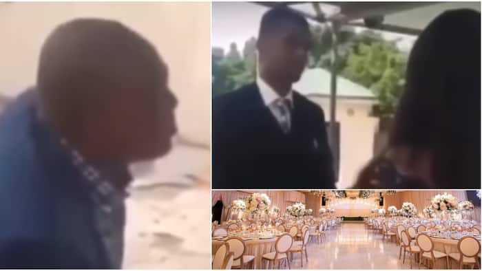 You must forsake other girlfriends: Nigerian man says as he joins couple together, many react to funny video