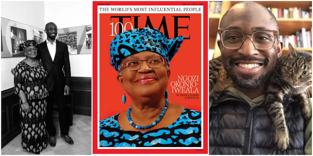 Ngozi Okonjo-Iweala's son hails mum for being named in 2021 Time Magazine 100 most influential list