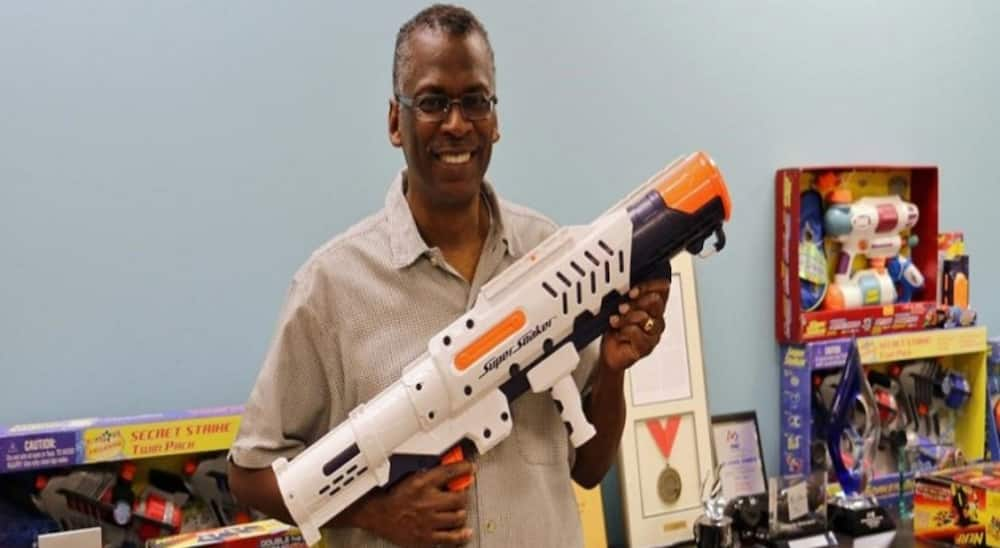 Meet George Johnson who made N386 billion by just making water pistol