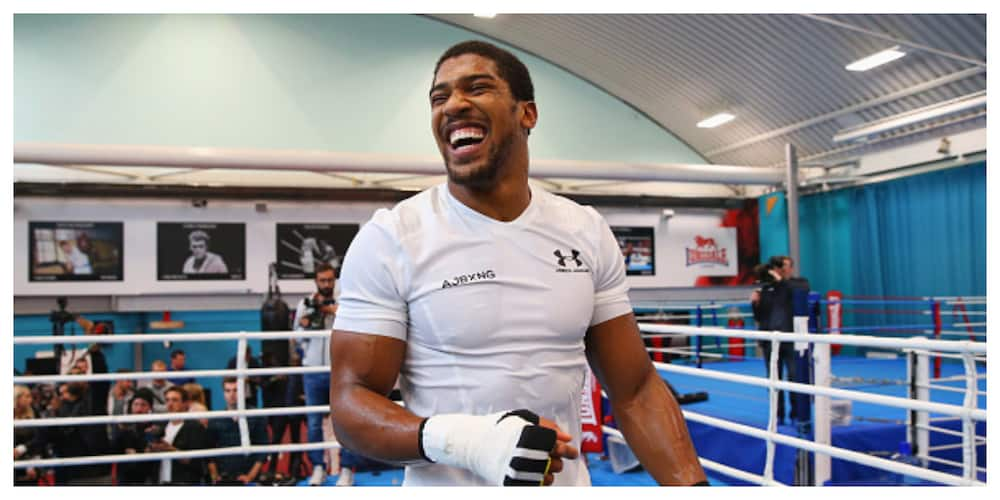 Anthony Joshua finally breaks silence on what ENDSARS protest was all about