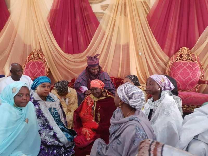 Emir turbans 5 women in Gombe