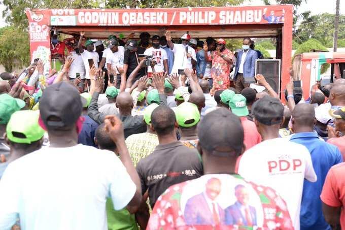 Obaseki reacts as INEC declares him winner of Edo governorship election