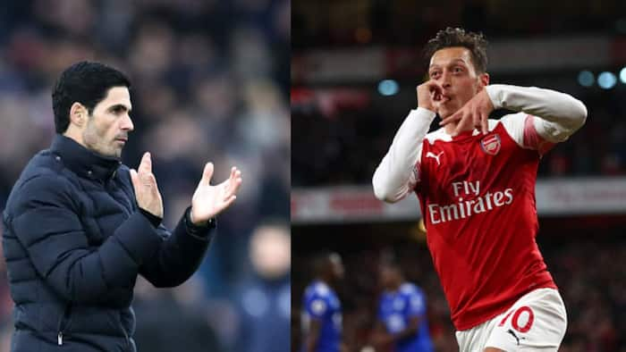 Mesut Ozil speaks on Arsenal's heavy defeat that sent them to bottom of Premier League